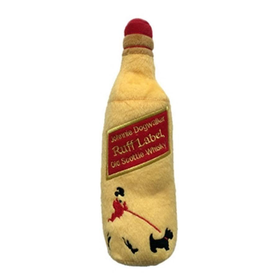 Johnnie Dogwalker Ruff Label Whisky Plush Toy Puppy's Home