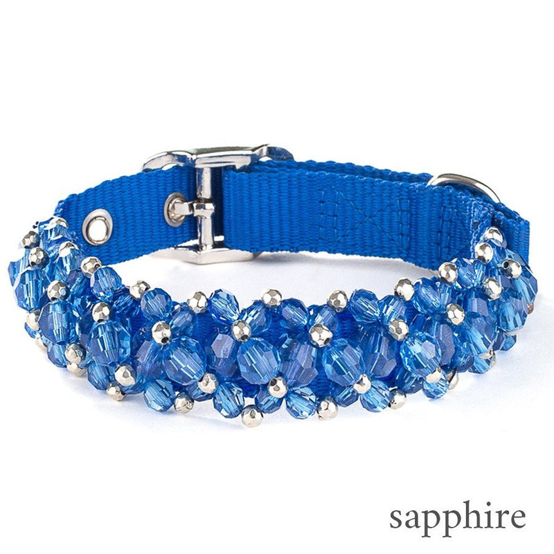 Luxury Beaded Dog Collar Puppy's Home