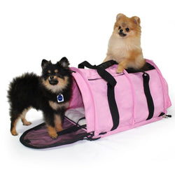 Sturdibag™ Large Divided Pet Carrier Puppy's Home