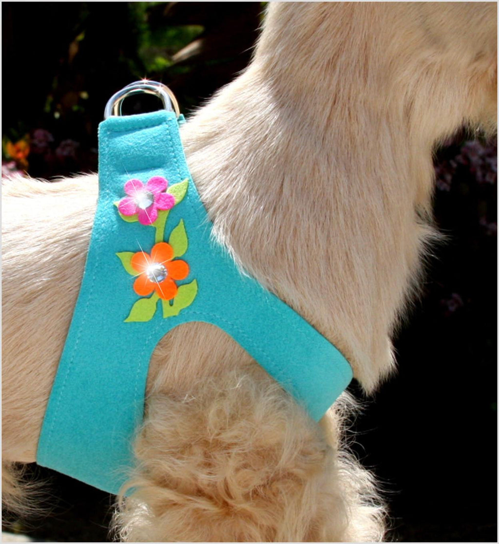 Secret Garden Swarovski Crystal Step In Dog Harness by Susan Lanci Puppy's Home