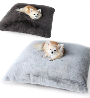Serenity Plush Dog Bed