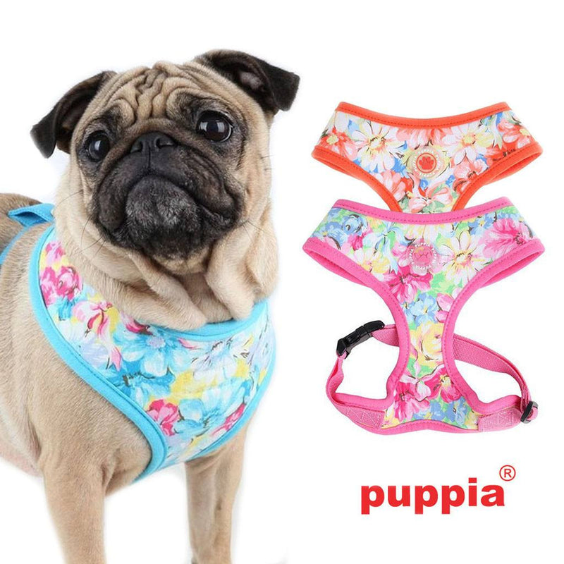 Puppia Spring Garden Over-Head Dog Harness Puppy's Home