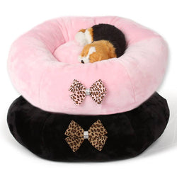 Nouveau Bow Swarovski Spa Bed by Susan Lanci Puppy's Home