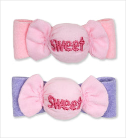 Puffy Sweets Candy Dog Hair Bow by Susan Lanci Puppy's Home