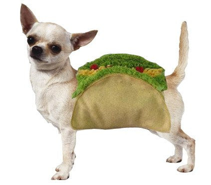 Taco Dog Pet Costume Puppy's Home