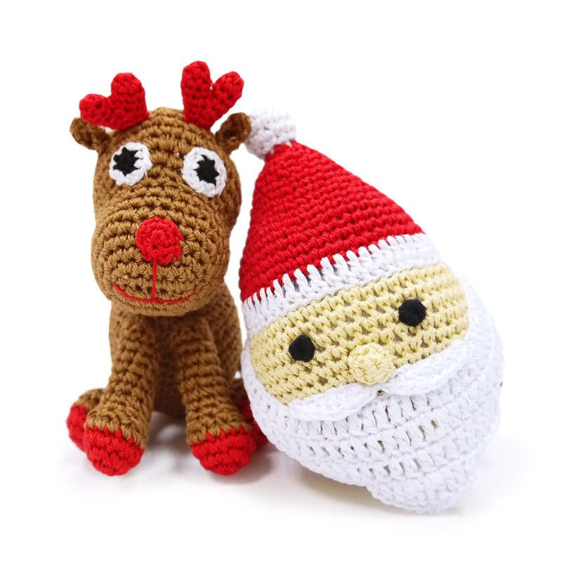 Holiday Handmade Crochet Dog Toy Puppy's Home
