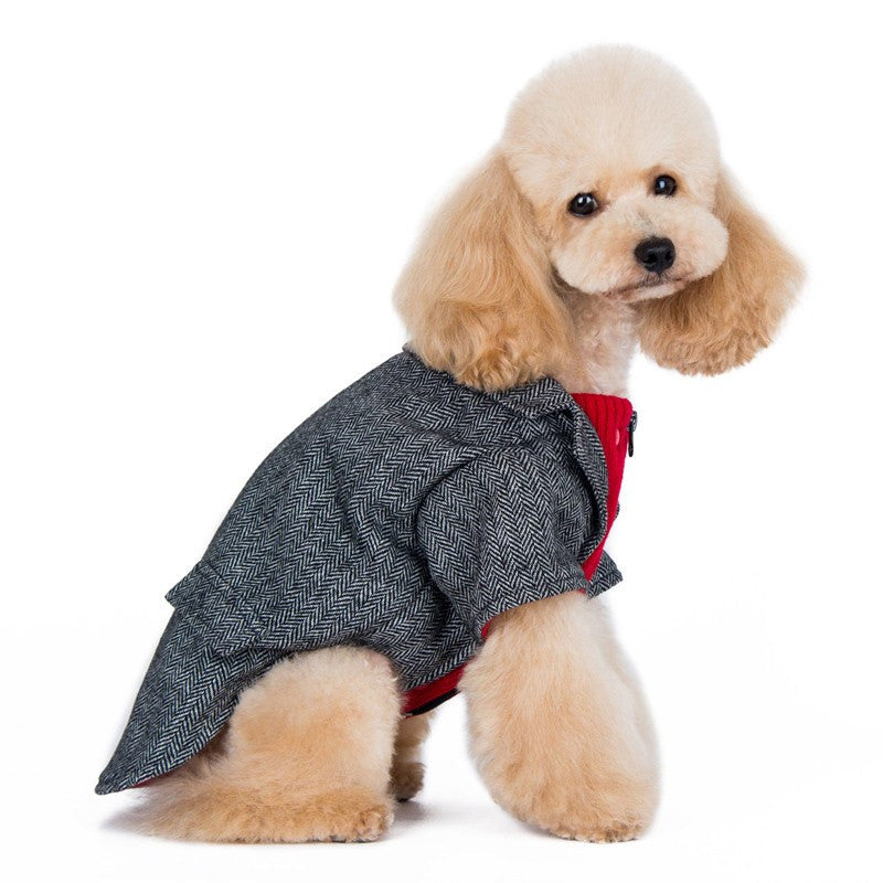 Tweed Blazer Dog Coat Puppy's Home