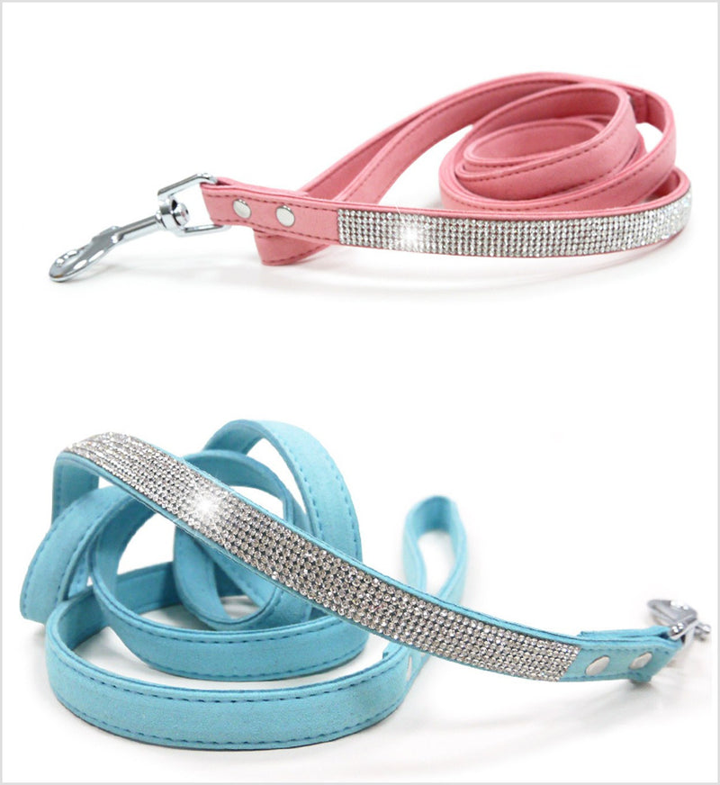 VIP Crystal Colors Bling Dog Leash Puppy's Home