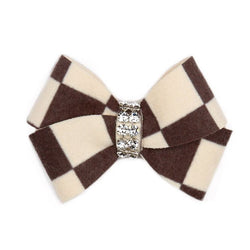 Windsor Check Nouveau Bow Hair Bow Puppy's Home