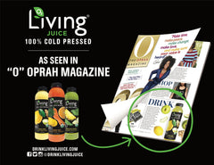 Living Juice seen in O, The Oprah Magazine