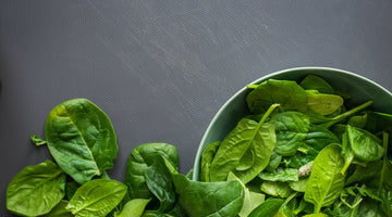 Nutritious Spinach Salad With Tomato Vinaigrette