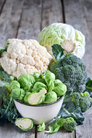 organic cauliflower - O2 Living blog by makers of Living health and wellness hemp extract and progesterone