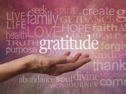 Gratitude - O2 Living blog by makers of Living Health and Wellness hemp extract and progesterone