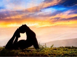 Yoga pose - O2 Living blog by makers of living health and wellness hemp extract and progesterone products
