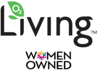 Living Juice 100% Cold Pressed Organic Juice Woman's Owned Logo