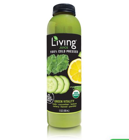 living juice green vitality-  O2 Living blog makers of organic cold-pressed fruit and vegetable Living Juice