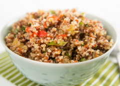 Organic Coconut Lime Quinoa Salad by Living Juice