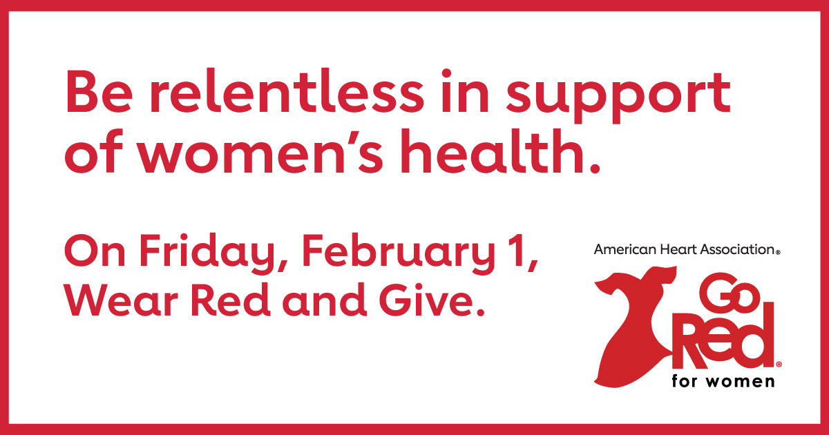 Living Juice blog - Go Red for Women - February is American Heart Health month