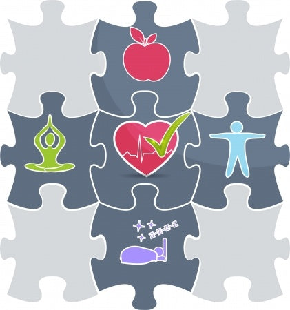 Puzzle pieces to health - blog by o2 Living - makers of living health and wellness hemp extract and progesterone