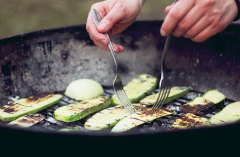 O2 Living recipe: Organic grilled zucchini recipe by makers of organic cold-pressed Living Juice