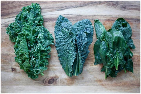 O2 Living - Living Juice blog - dark leafy green vegetables can help promote mental health