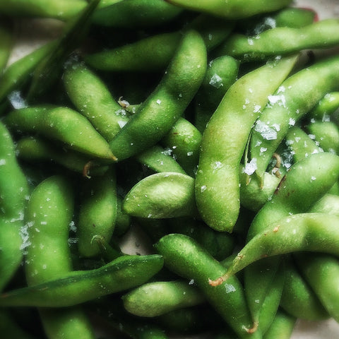 Omega-3 rich edamame - O2 Living recipe by makers of organic cold-pressed Living Juice for mental health month