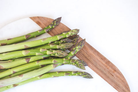 Organic heart healthy asparagus - recipe by O2 Living makers of organic cold-pressed Living Juice