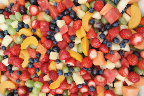 O2 Living Blog - Organic fruit salad - by makers of Living health and wellness hemp extract and progesterone products