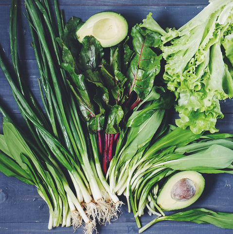 Leafy green veggies - O2 Living blog makers of organic cold-pressed Living Juice