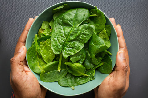 spinach organic- O2 Living blog makers of organic cold-pressed fruit and vegetable Living Juice