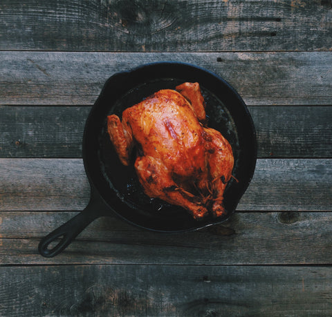 O2 Living blog - organic roasted chicken - by makers of Living Hemp extract and progesterone products