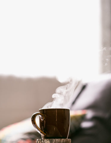 morning coffee- O2 Living blog makers of organic cold-pressed fruit and vegetable Living Juice