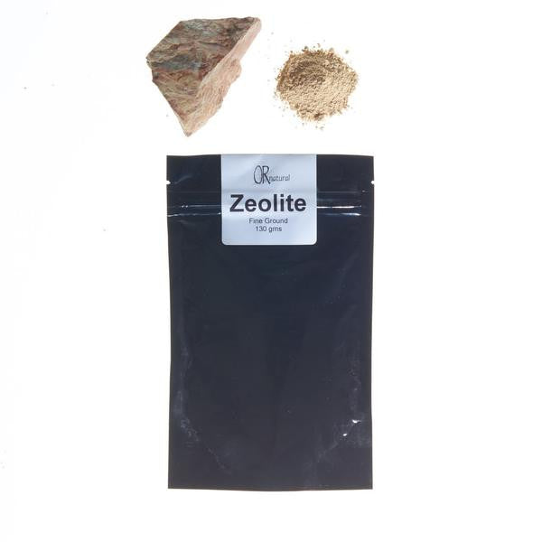 *Zeolite  --  An exfoliant and detoxifier*
