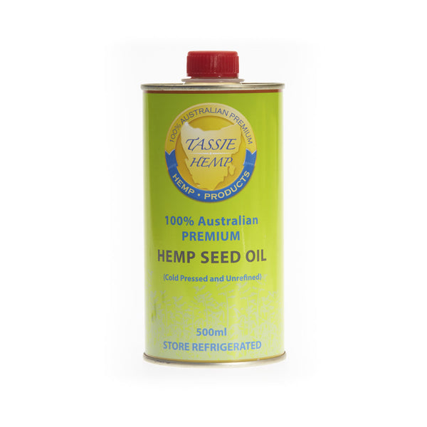 Hemp Seed Oil Cold Pressed
