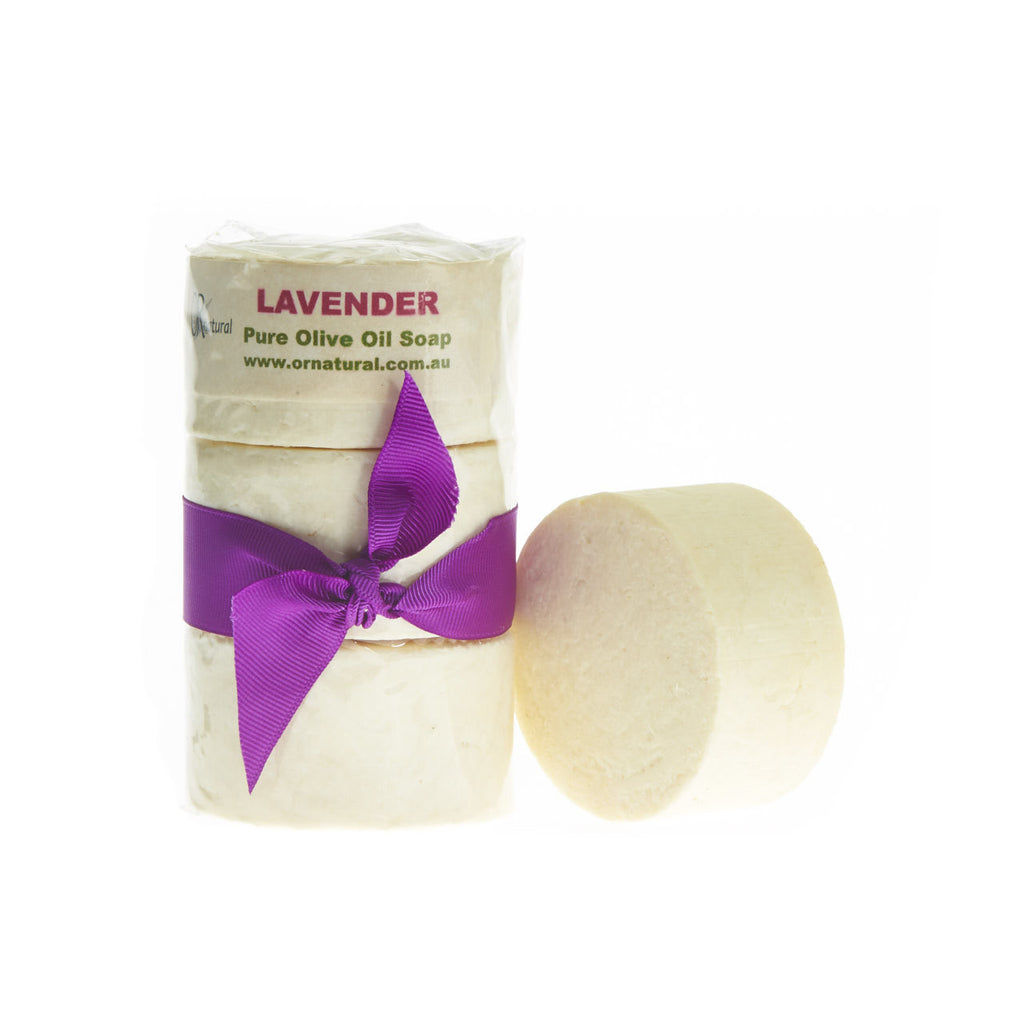 Olive Oil Soap & Lavender Essential Oil 3 pack