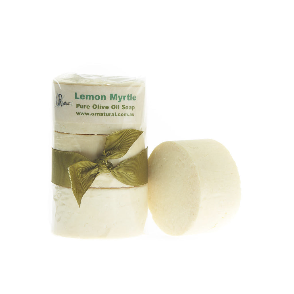 Olive Oil Soap & Lemon Myrtle Essential Oil 3 pack