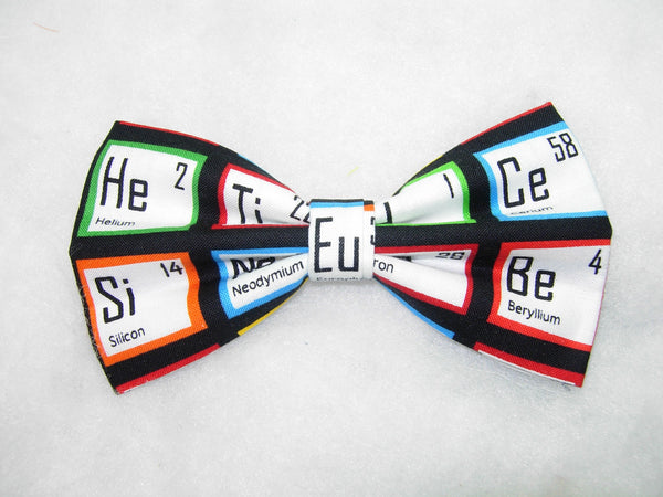 Periodic Table Bow tie / Science Elements for School & College / Self-tie & Pre-tied Bow tie - Bow Tie Expressions