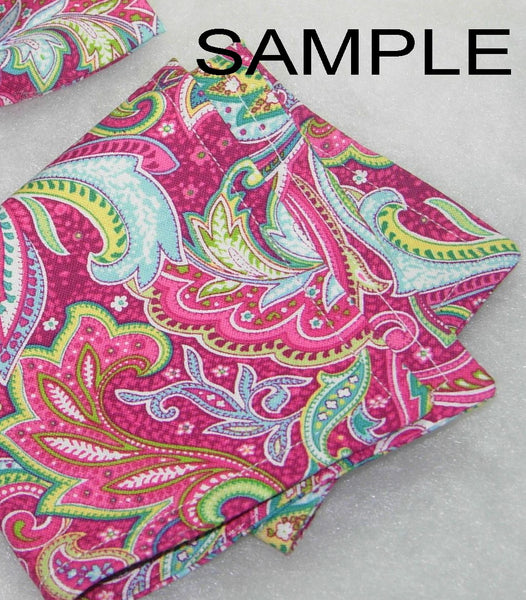 Create Your Own Pocket Square - Double Sided or Reversible - 2 Sizes! - Bow Tie Expressions  - 2