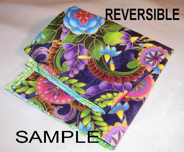 Create Your Own Pocket Square - Double Sided or Reversible - 2 Sizes! - Bow Tie Expressions  - 4