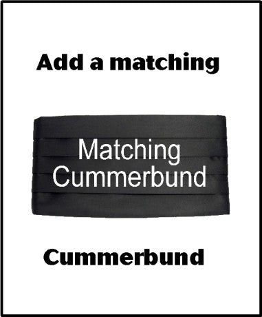 Matching Cummerbund - Custom Cummerbund to match any bow tie in our store - Bow Tie Expressions