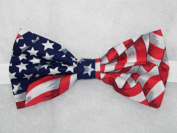 AMERICAN FLAG BOW TIE - STARS & STRIPES - Bow Tie Expressions  - 2