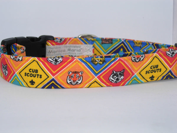 Cub Scout Dog Collar / Troop Mascots / Pack Leader / Matching Dog Bow tie - Bow Tie Expressions