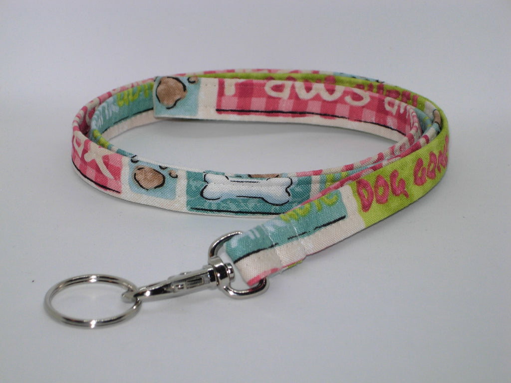 Dog Groomer Lanyard / Dog Gone Cute Key Chain / Re-Barkable Key Fob / Veterinarian Lanyard / Cell Phone Wristlet / Cool Lanyard / Pet Groomer Gift