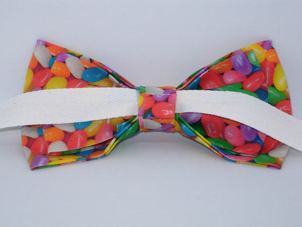 Jelly Bean Bow tie / Colorful Easter Candy / Pre-tied Bow tie - Bow Tie Expressions