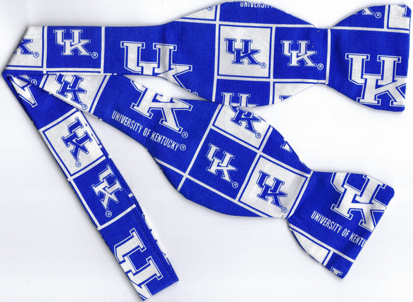 KENTUCKY WILDCATS UK BOW TIE (BLOCKS) - Bow Tie Expressions