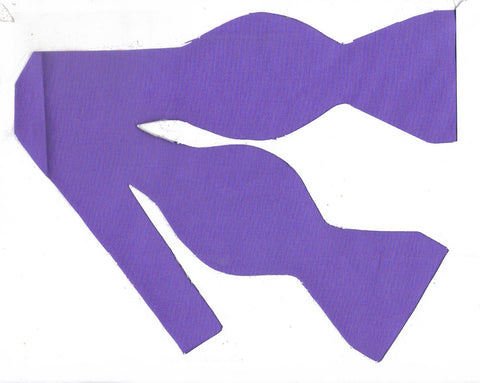 Light Purple Bow tie / Lovely Lavender / Solid Color / Self-tie & Pre-tied Bow tie - Bow Tie Expressions