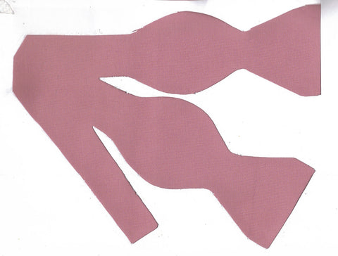 Mauve Bow tie / Dusty Rose / Blush Pink / Solid Color / Self-tie & Pre-tied Bow tie - Bow Tie Expressions