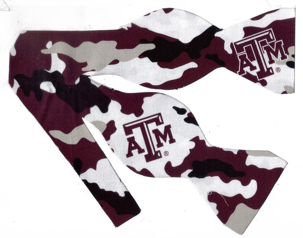 TEXAS A&M AGGIES BOW TIE (CAMO) - Bow Tie Expressions