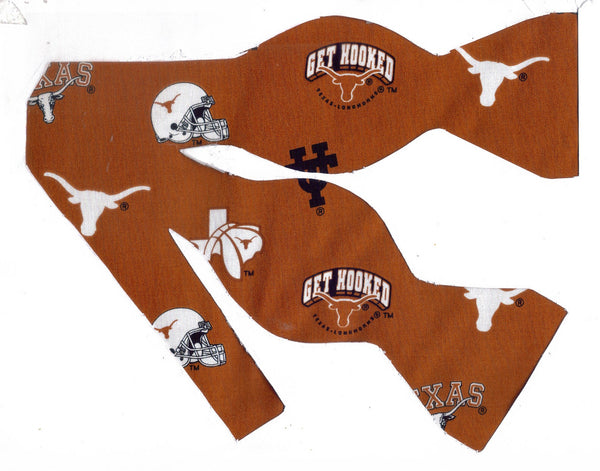TEXAS LONGHORNS BOW TIE (ICONS) Get Hooked! - Bow Tie Expressions