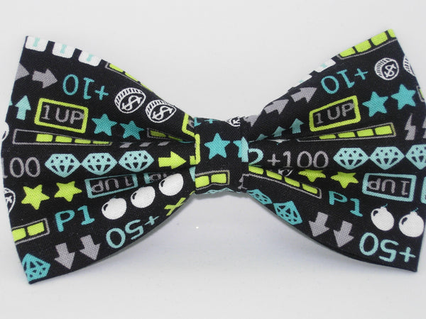 Gamer Bow tie / Video Game Icons & Tokens / Gaming Champ / Self-tie & Pre-tied Bow tie - Bow Tie Expressions